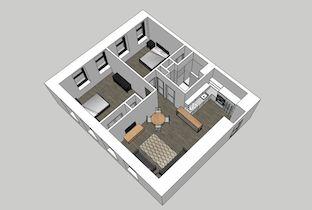 Beach Building 2-Bedroom Unit 201