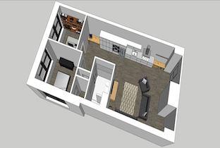 Beach Building 205 1-Bedroom Unit