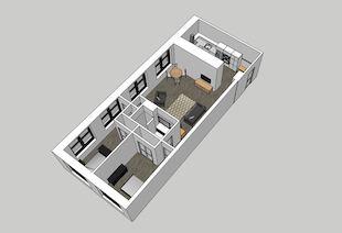 Beach Building 206 2-Bedroom Unit