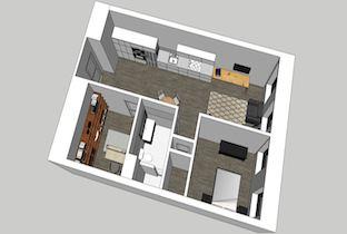 Beach Building 210 1-Bedroom Unit